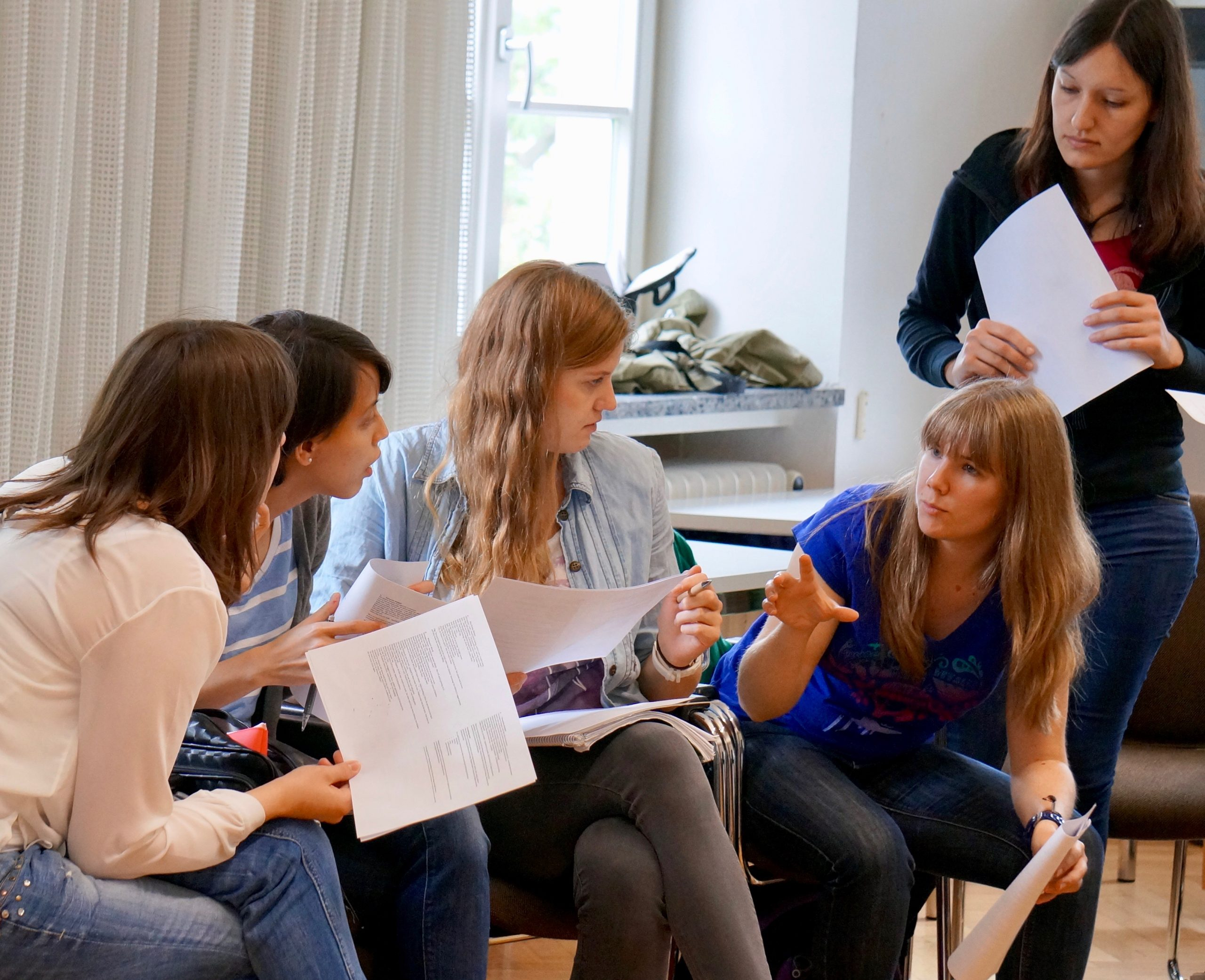 A teacher-training workshop, Karlsruhe Education University