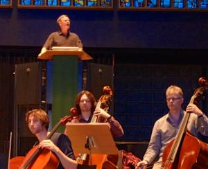 Performing with the Berliner Bach Akademie, Kaiser Wilhelm Gedächtniskirche, Berlin