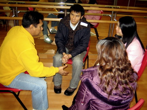 A teacher-training workshop, Hong Kong