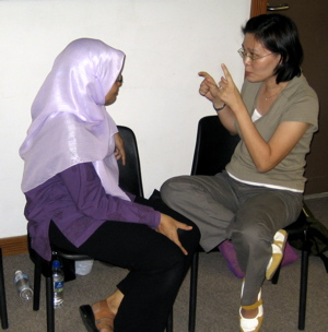 Teacher-training workshop, Singapore